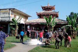 इनरुवा तथा ववियाको भगवति मन्दिर सरसफाई