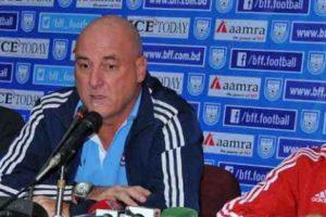 बंगलादेशसँगको मैत्रीपूर्ण खेलमा नेपाल १–० ले पराजीत