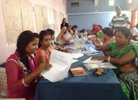 महिला सहजकर्तालाई प्रशिक्षण