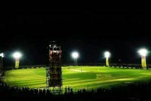 इनरुवामा राष्ट्रिय स्तरको रात्रिकालीन क्रिकेट हुँदै