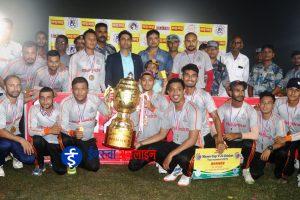 एपीएफले उचाल्यो रात्रिकालीन क्रिकेटको उपाधी