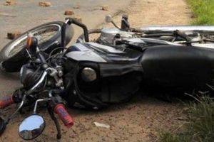 ट्रकको ठक्करबाट मोटरसाईकल चालकको मृत्यु