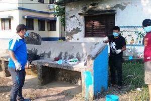 इनरुवा अस्पतालमा युवाले छेडे सफाई अभियान