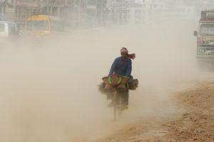 दिल्लीको धुलोले तराई प्रदूषित, काठमाडौँ नभित्रिने