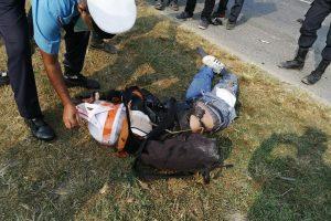 कोशी  कटानमा सवारी दुर्घटना हुदा १ जनाको मृत्यु