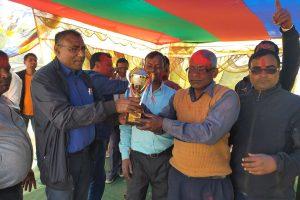 दोस्रो राष्ट्रपति रनिङ शिल्डको उपाधि हरिनगरा उच्च माध्यमिकलाई