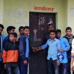 श्रीपुरको राष्ट्रिय मा.वि. मा तालाबन्दी