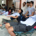 कोरोना : इनरुवामा जेसीजको रक्तदान