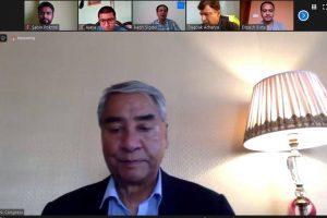 देउवाद्वारा प्रेस युनियन सुनसरीको डिजिटल क्यालेण्डर विमोचन