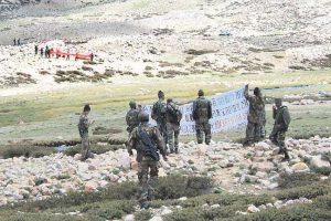 भारत र चीनका सैनिकबीच लद्दाखको गलवान उपत्यकामा झडप