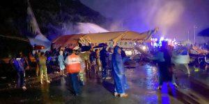 एयर इन्डिया एक्सप्रेसको विमान केरलको कोजिकोडमा दुर्घटना