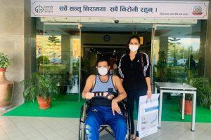 क्रिकेट ललित भण्डारी अस्पतालबाट डिस्चार्ज