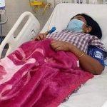 कोरोना संक्रमित सांसद शान्ता चौधरी आईसीयुमा सिफ्ट