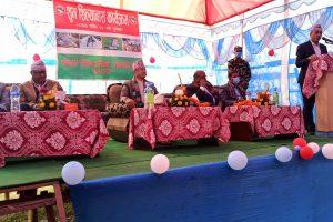 मुख्यमंत्रीद्वारा कोशी कटानमा २ अर्वको परियोजना शिलान्यास