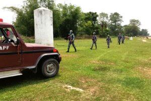 सुनसरीको सीमामा सशस्त्र प्रहरीको कडाइ