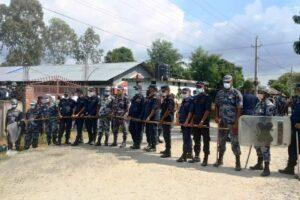 सुरक्षा घेरामा कांग्रेसको वडा अधिवेशन
