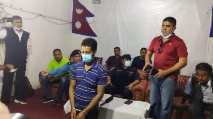 मादी सामुहिक हत्या काण्डमा संग्लग्न अभियुक्त पक्राउ