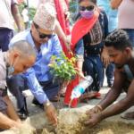 नेपाल-भारत मैत्री संघको सरसफाइ तथा वृक्षारोपण